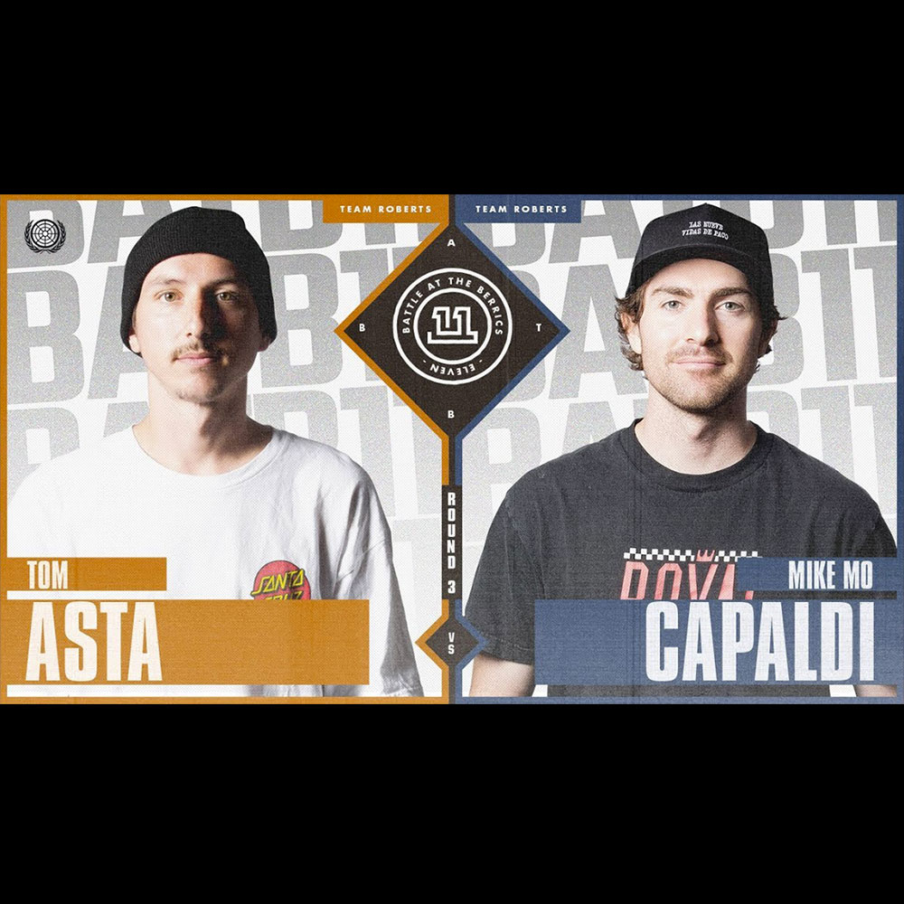 【海外・INFO】BATB 11 : ROUND 3 – TOM ASTA vs MIKE MO CAPALDI