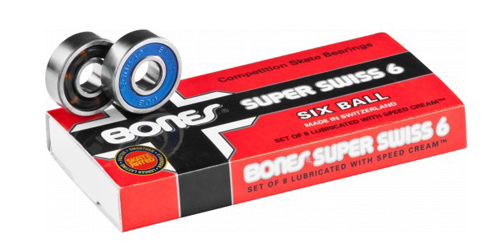 BONES BEARING SUPER SWISS 6