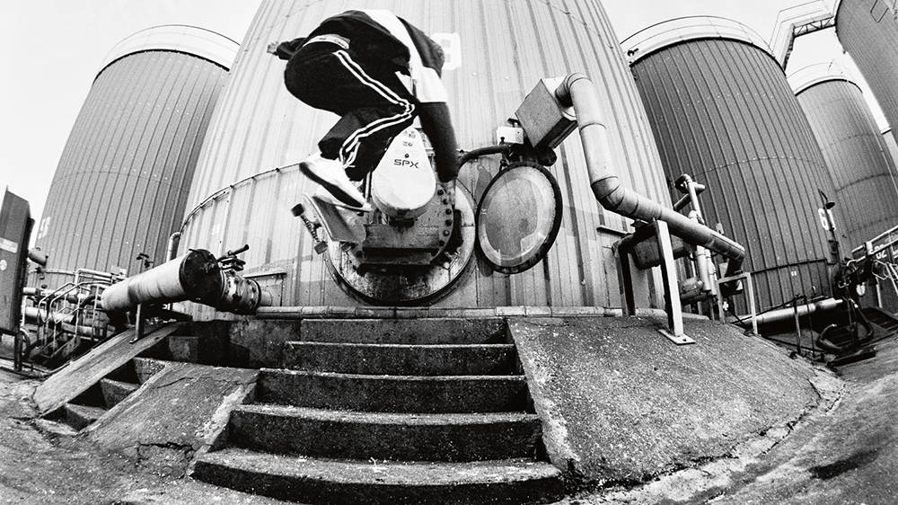 GLEN FOX MAGENTA SKATEBOARDS PHOTO