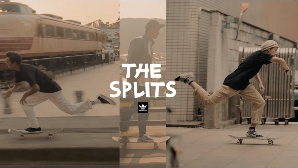 ADIDAS SKATEBOARDING JAPAN THE SPLITS アディダス スケートボーディング スプリッツ