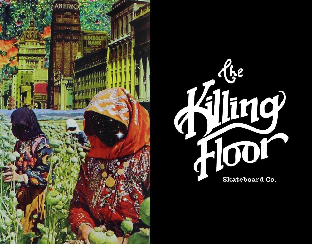 THE KILLING FLOOR SKATEBOARDS, ザ キリングフロアー スケートボード