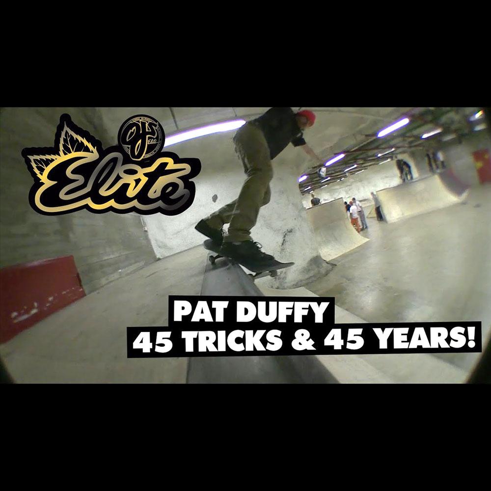 OJ WHEELS (オージェー ウィール) : PAT DUFFY – 45 TRICKS & 45 YEARS