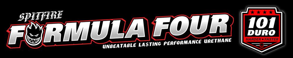 SPITFIRE FORMULA FOUR 101D ウィールの商品ページ用バナー