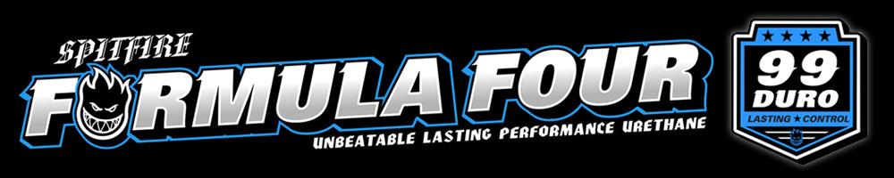 SPITFIRE FORMULA FOUR 99D ウィールの商品ページ用バナー