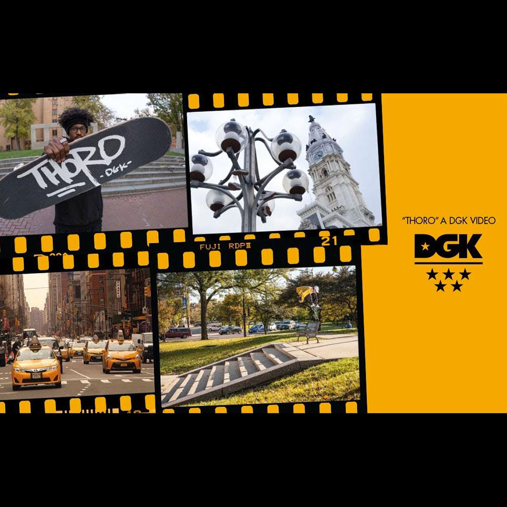 DGK (ディージーケー スケートボード) : THORO