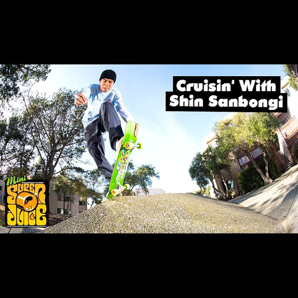OJ WHEELS (オージェー ウィール) : CRUSHIN' WITH SHIN SANBONGI