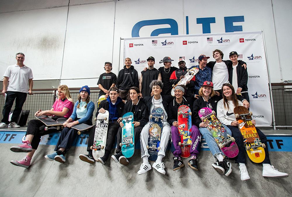 tokyo2020 オリンピック・スケートボード・アメリカチーム