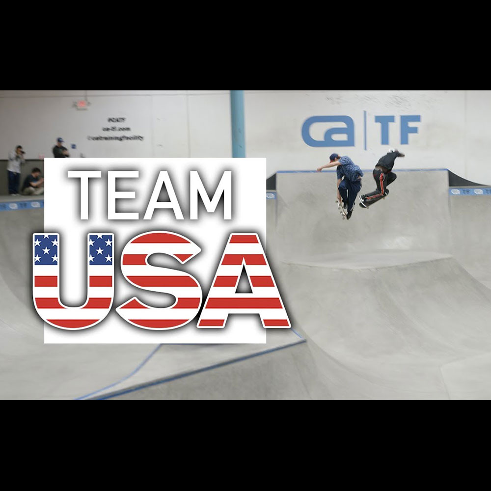 THE BERRICS : USA SKATEBOARDING OLYMPIC TEAM ANNOUNCEMENT