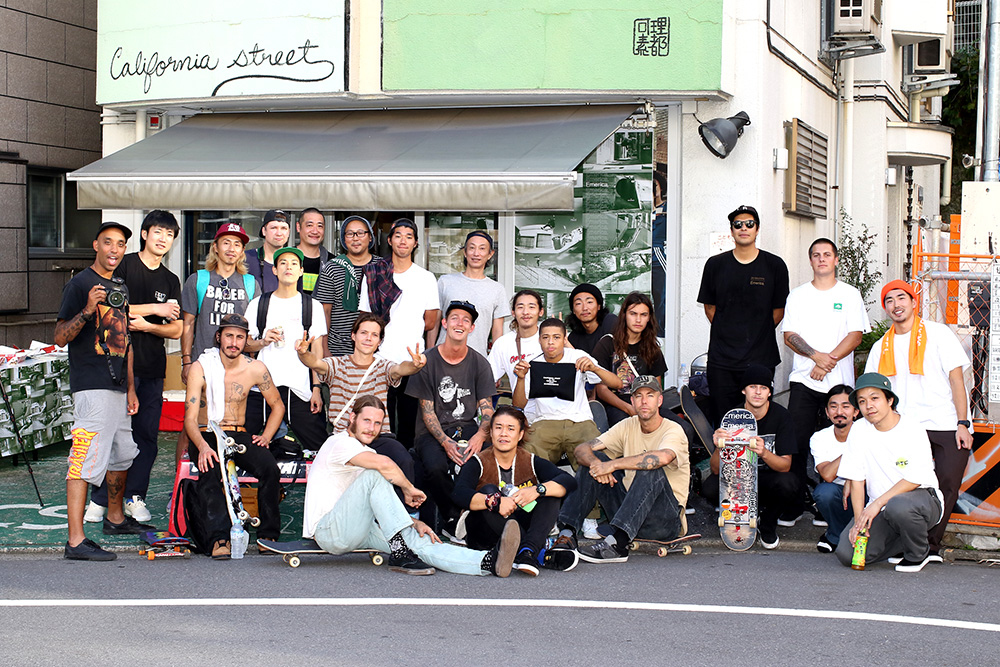 EMERICA x カリフォルニアストリート ランチデモ 2018