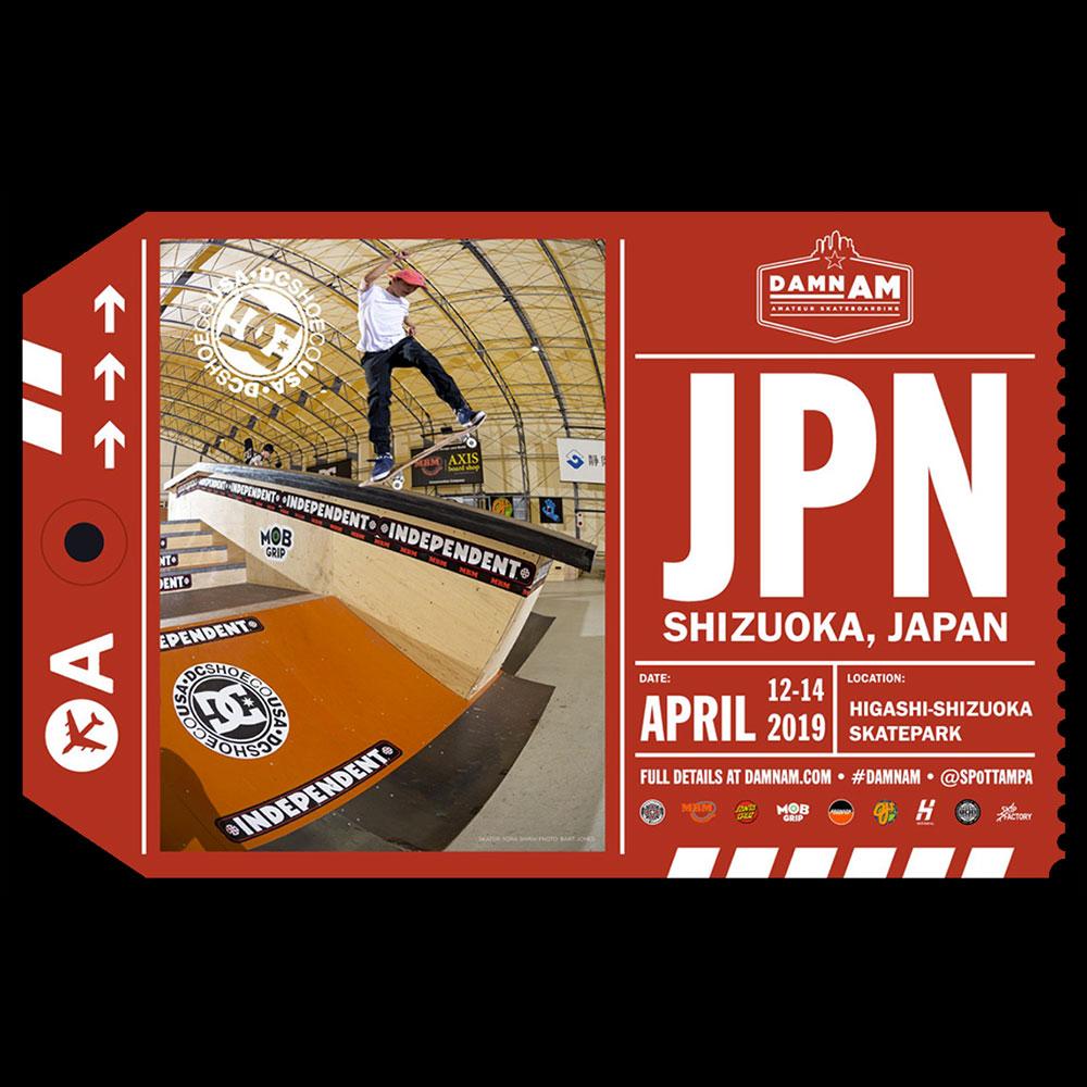 DAMN AM JAPAN 2019 : FINALS