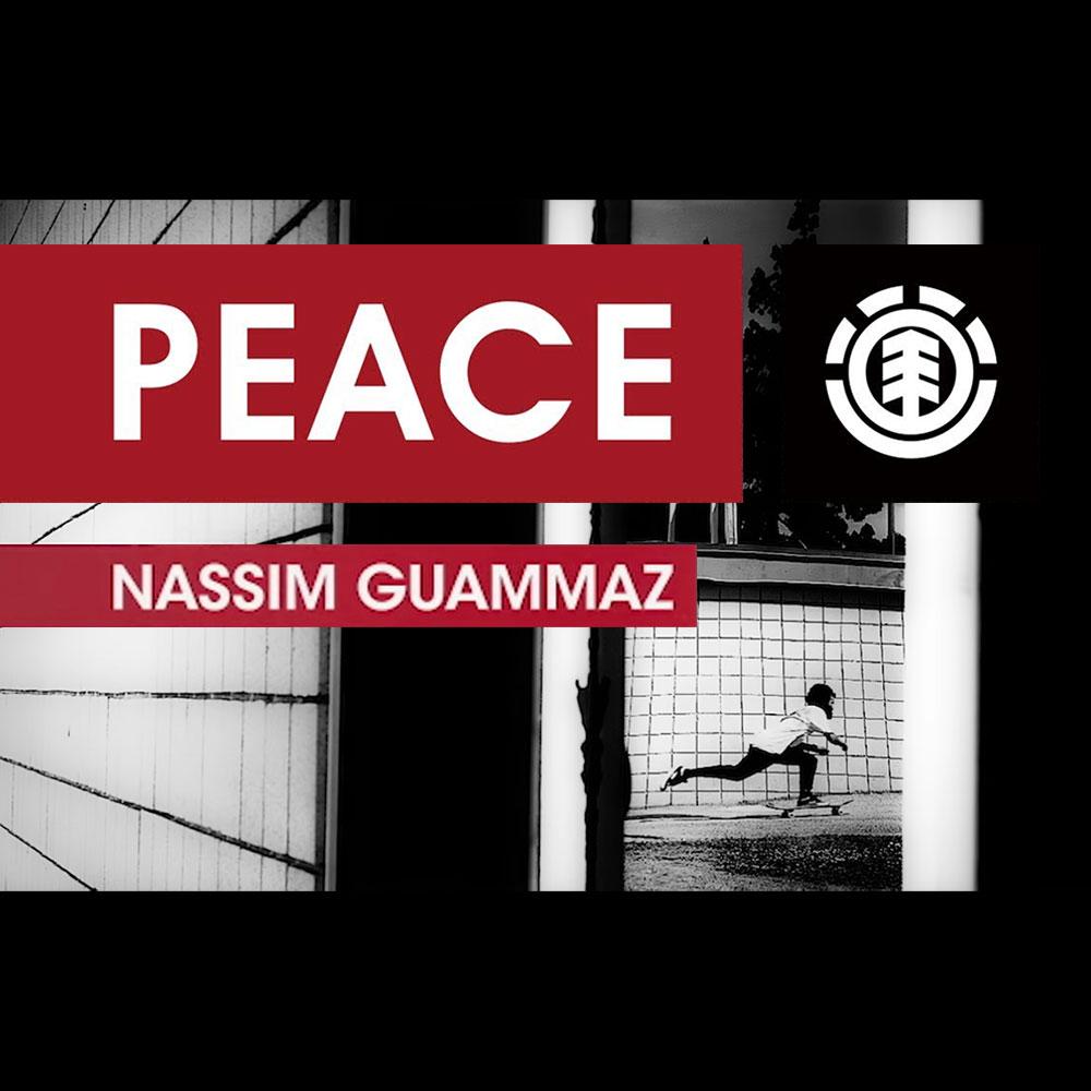 ELEMENT (エレメント スケートボード) : PEACE – NASSIM GUAMMAZ