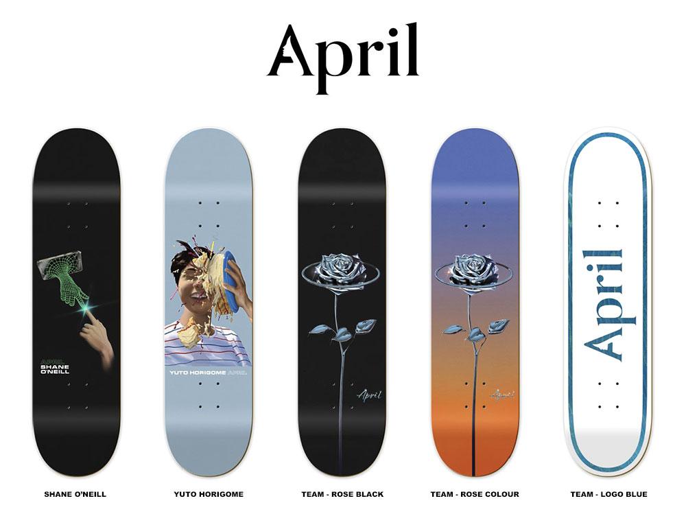 APRIL SKATEBOARDS, エイプリル スケートボード, デッキ