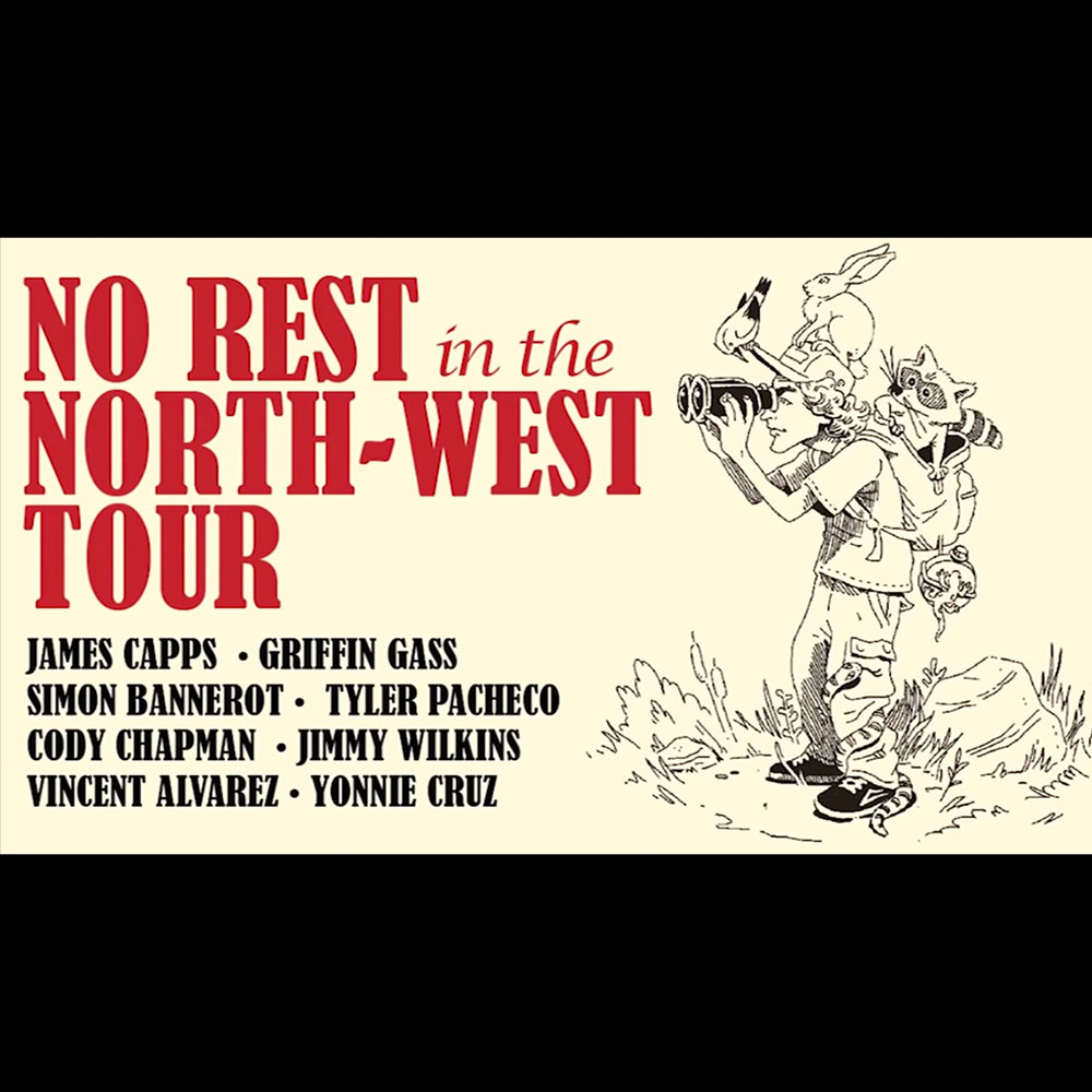 LAKAI (ラカイ) : NO REST IN THE NORTH WEST TOUR