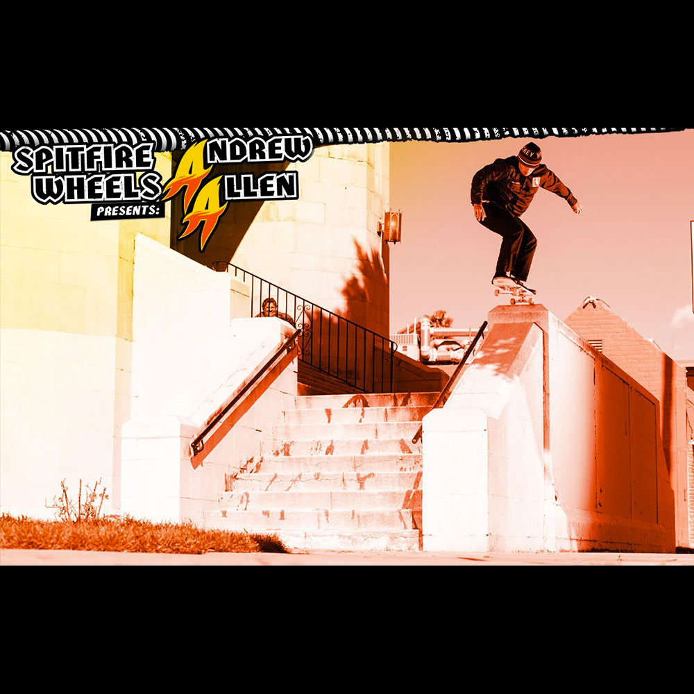 SPITFIRE WHEELS (スピットファイヤー ウィール) : ANDREW ALLEN – DOUBLE A