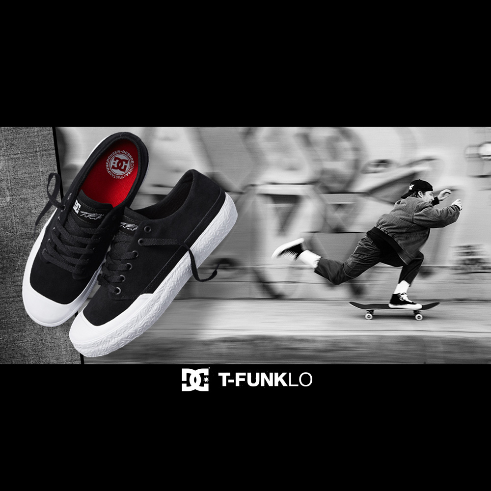 DC SHOES (ディーシー シューズ) : INTRODUCING THE T-FUNK LO