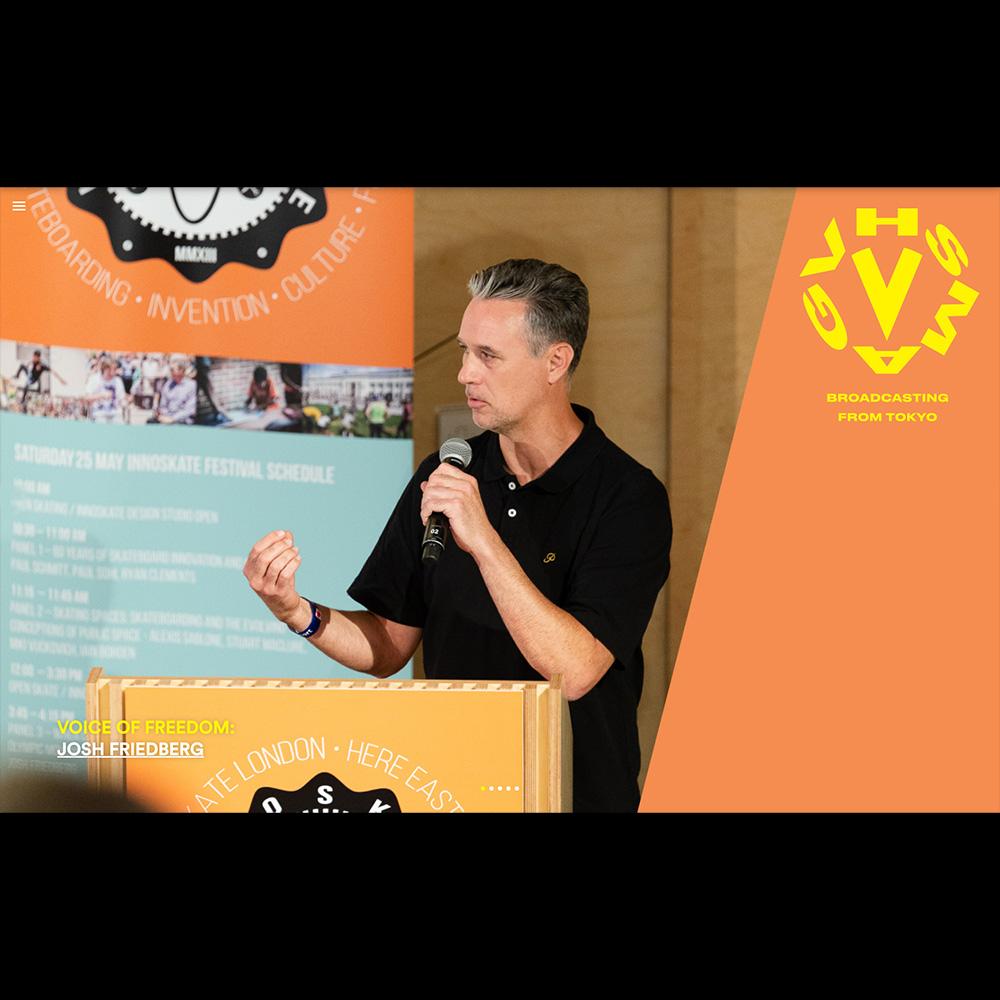 【オリンピック情報】JOSH FRIEDBERG(ジョシュ・フリードバーグ) インタビュー:VHS MAG / VOICE OF FREEDOM