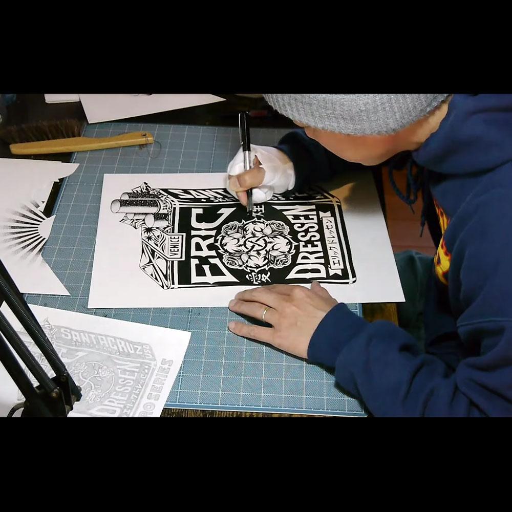 SANTA CRUZ (サンタクルーズ スケートボード) : MAKO YAMAKI – POWERPLY ARTIST SERIES
