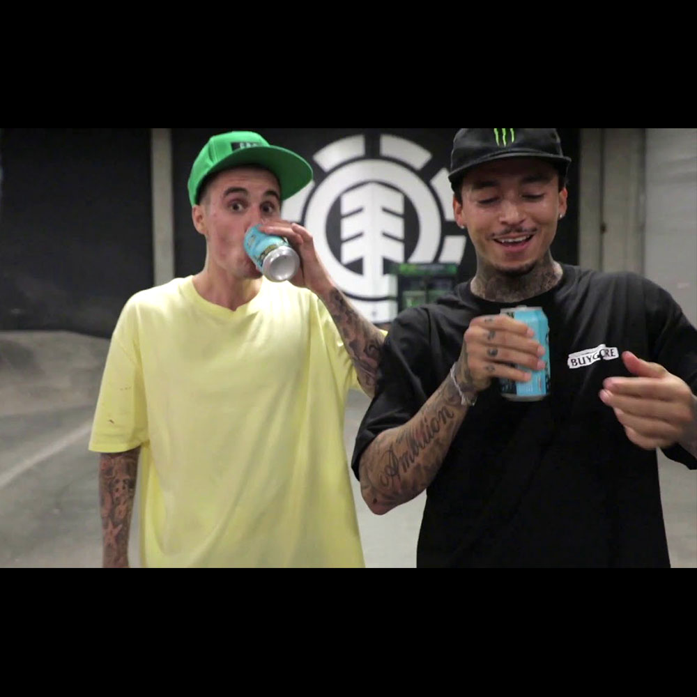 NYJAH HUSTON : JUSTIN BIEBER AT THE PARK