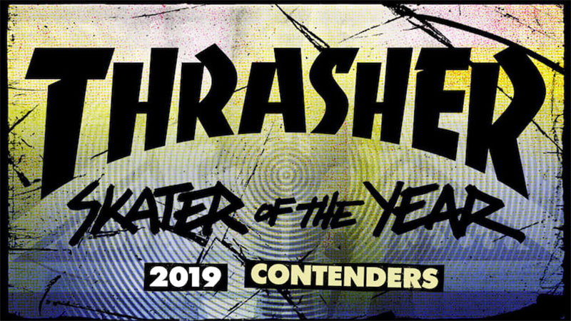 SOTY, SKATER OF THE YEAR, 2019, CONTENDERS