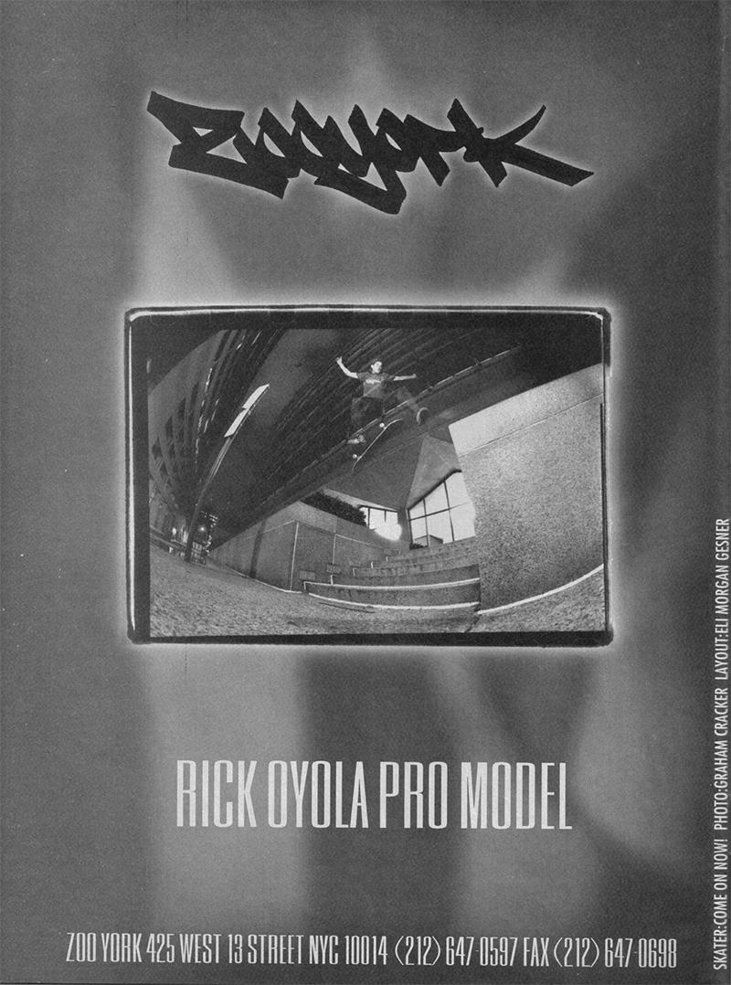 ZOO YORK RICKY OYOLA AD