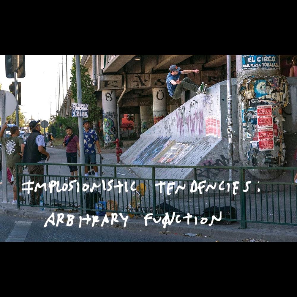 ANTIHERO (アンチヒーロー スケートボード)から、ARBITRARY FUNCTION 映像が公開