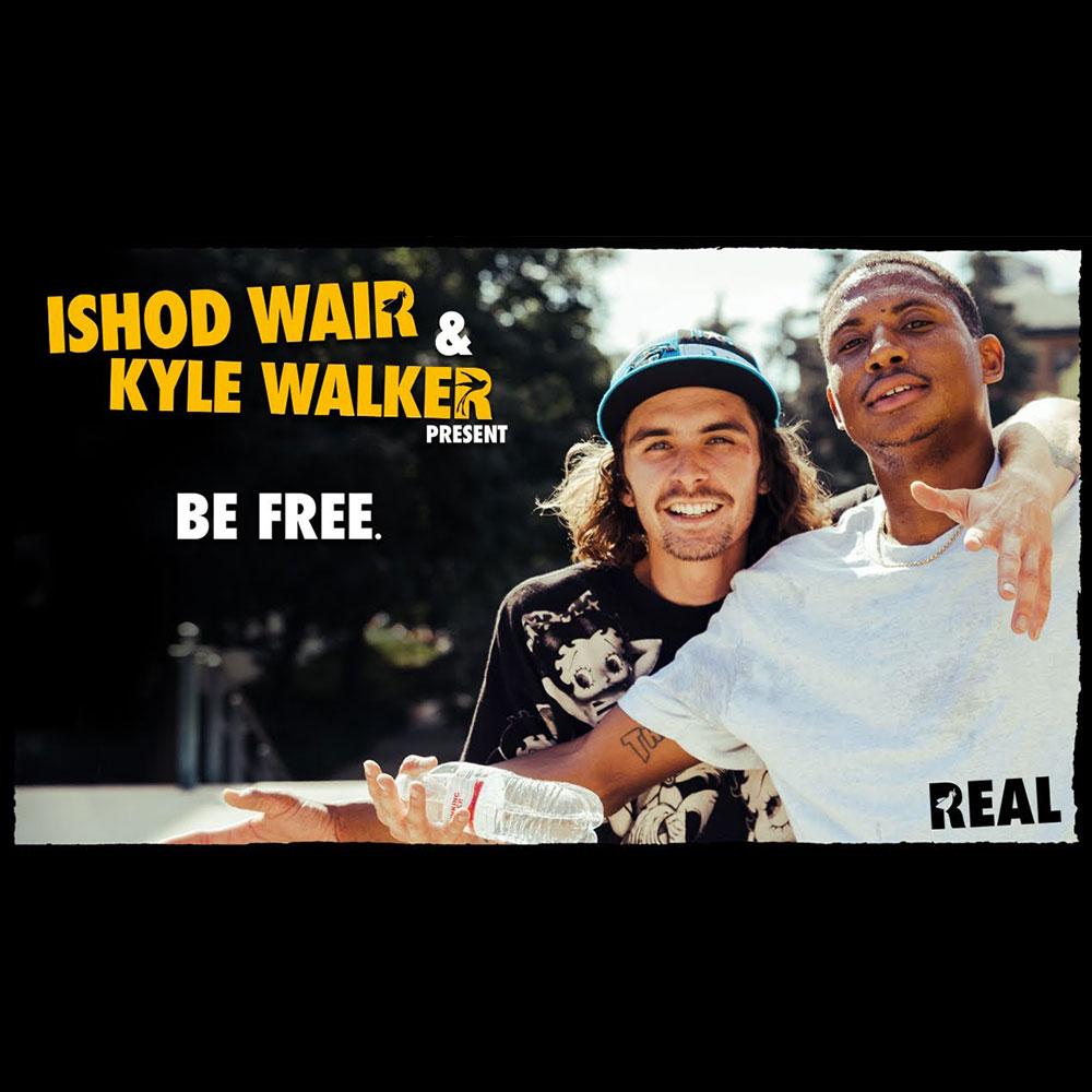 """THRASHER MAGAZINE(スラッシャーマガジン)から、ISHOD WAIR と KYLE WALKER のツアー映像 """"BE FREE."""" が公開"""