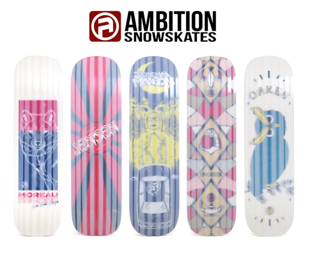 AMBITION SNOWSKATES, アンビション, スノースケート, PRO