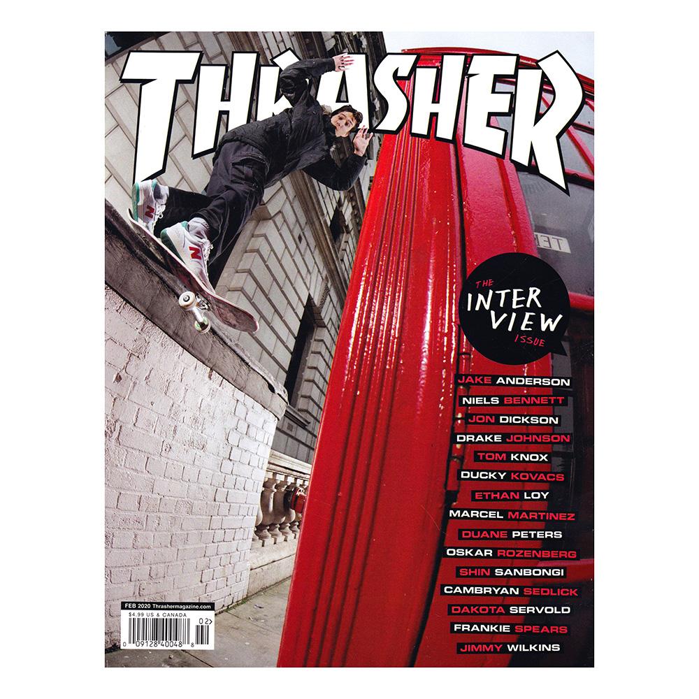 thrasher magazine スラッシャー 雑誌 2020年02月号