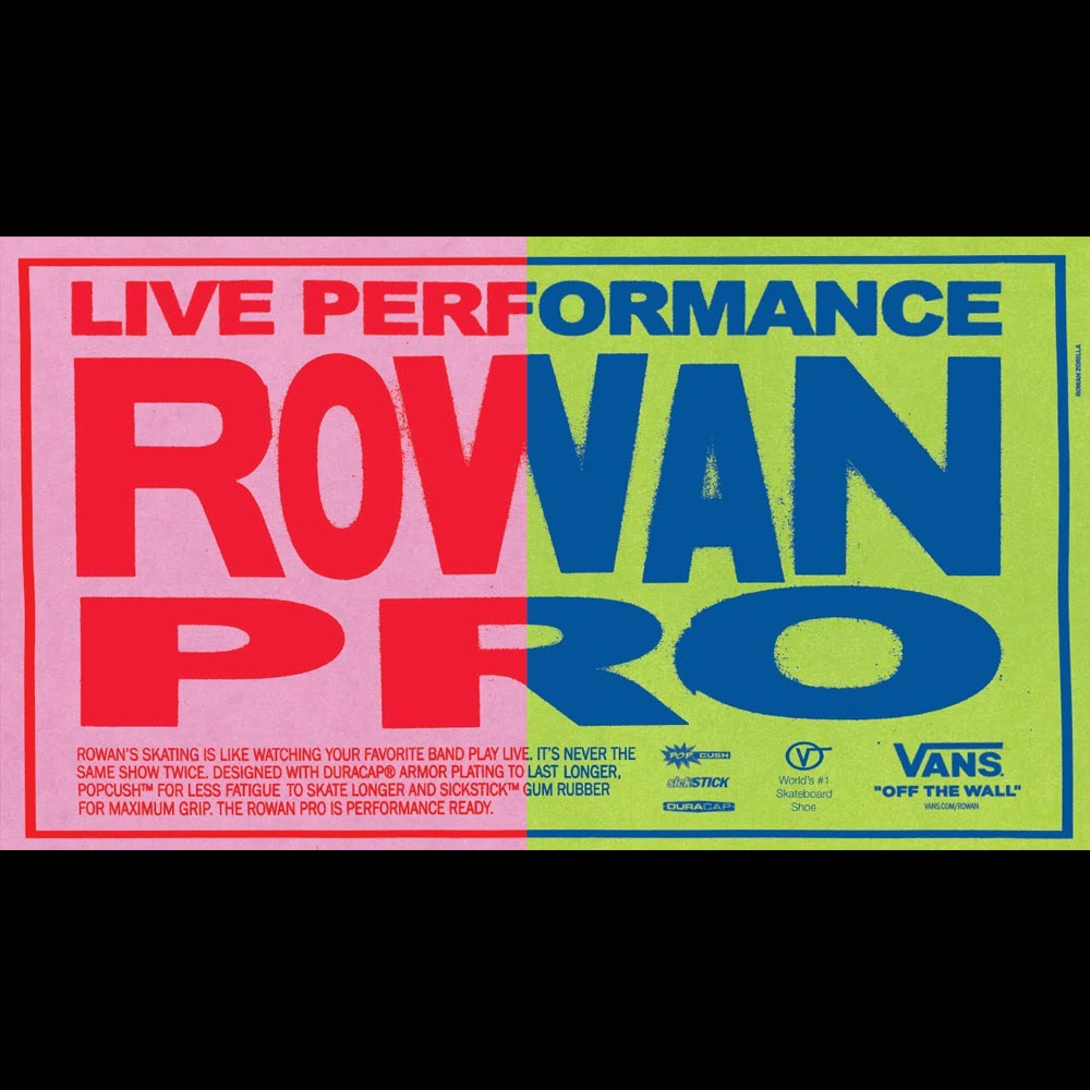 VANS (バンズ シューズ) から、ROWAN ZORILLA のシグネチャーモデルリリース映像が公開