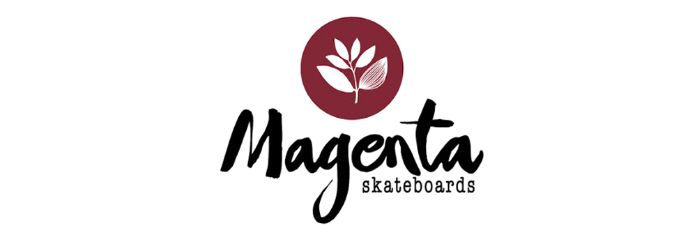 MAGENTA SKATEBOARDS, LOGO
