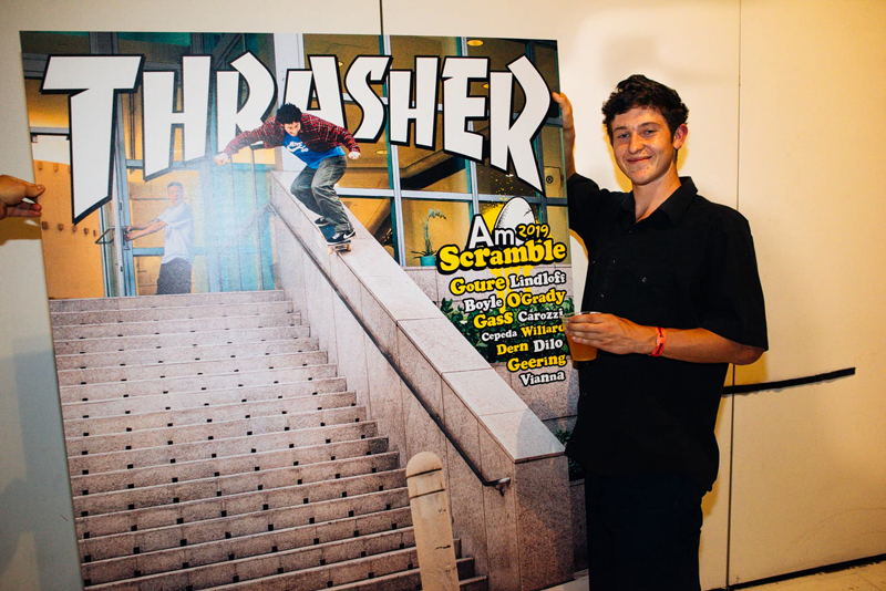 THRASHER MAGAZINE, AM SCRAMBLE 2019, PREMIERE PHOTOS