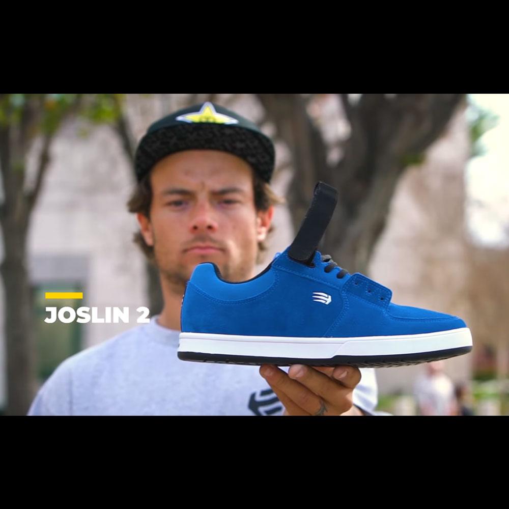 "ETNIES (エトニーズ) から、CHRIS JOSLIN (クリス・ジョスリン) のシグネチャーモデル ""JOSLIN 2"" を紹介"