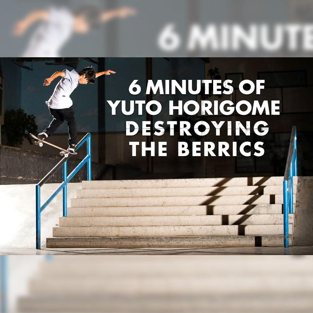 ベリックス スケートパークで収録された、堀米雄斗の6分間に渡るベスト映像が公開