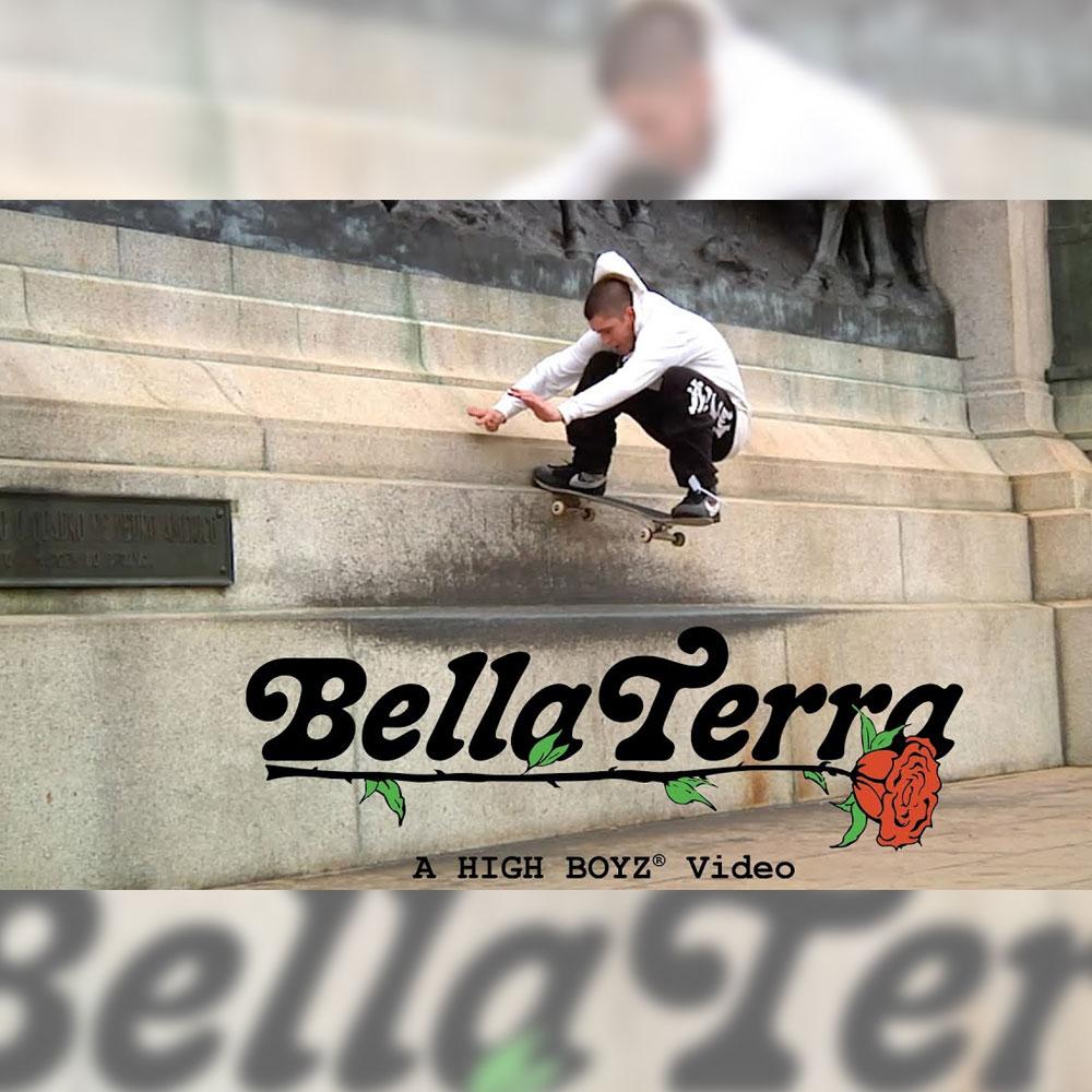 アパレルブランド HIGH のクルーたちが、SF、LA、母国ブラジルで収録した映像 BERRA TERRA が公開