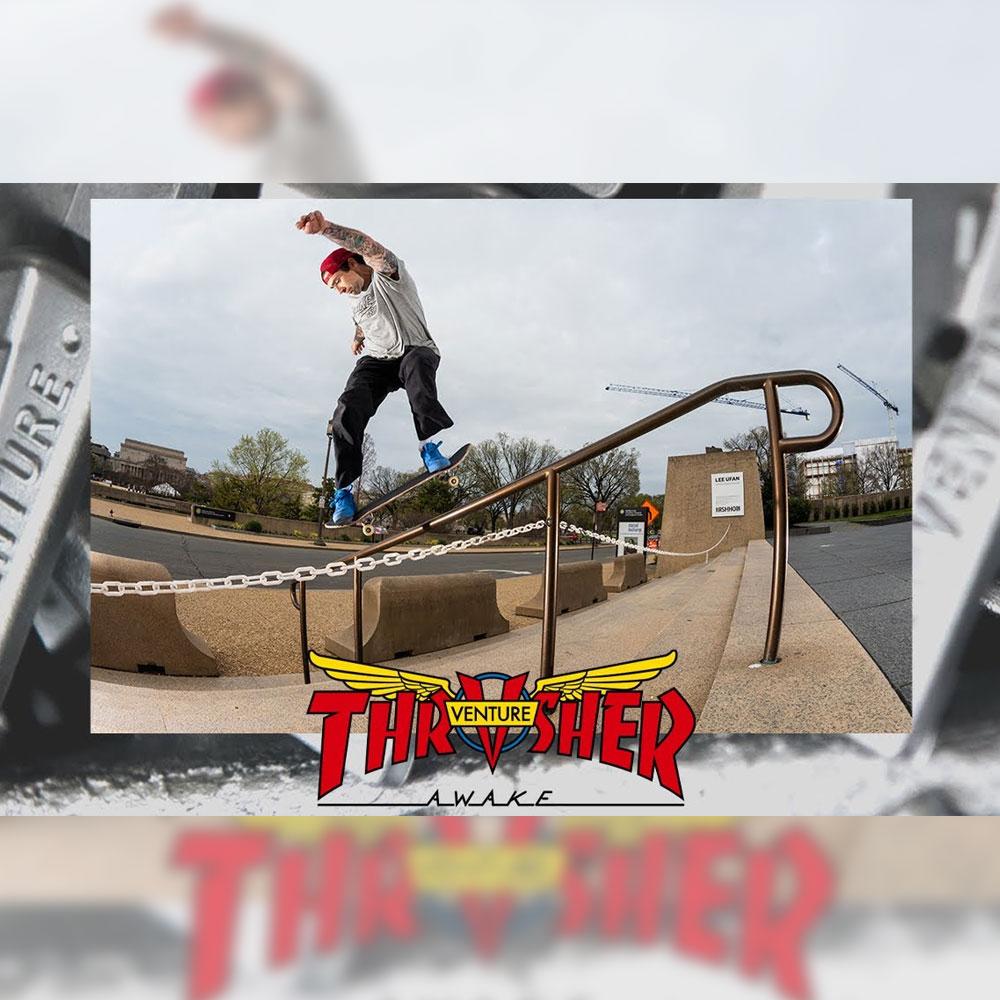 VENTURE TRUCKS (ベンチャートラック) から、THRASHER (スラッシャー) とのコラボトラックのプロモ映像が公開