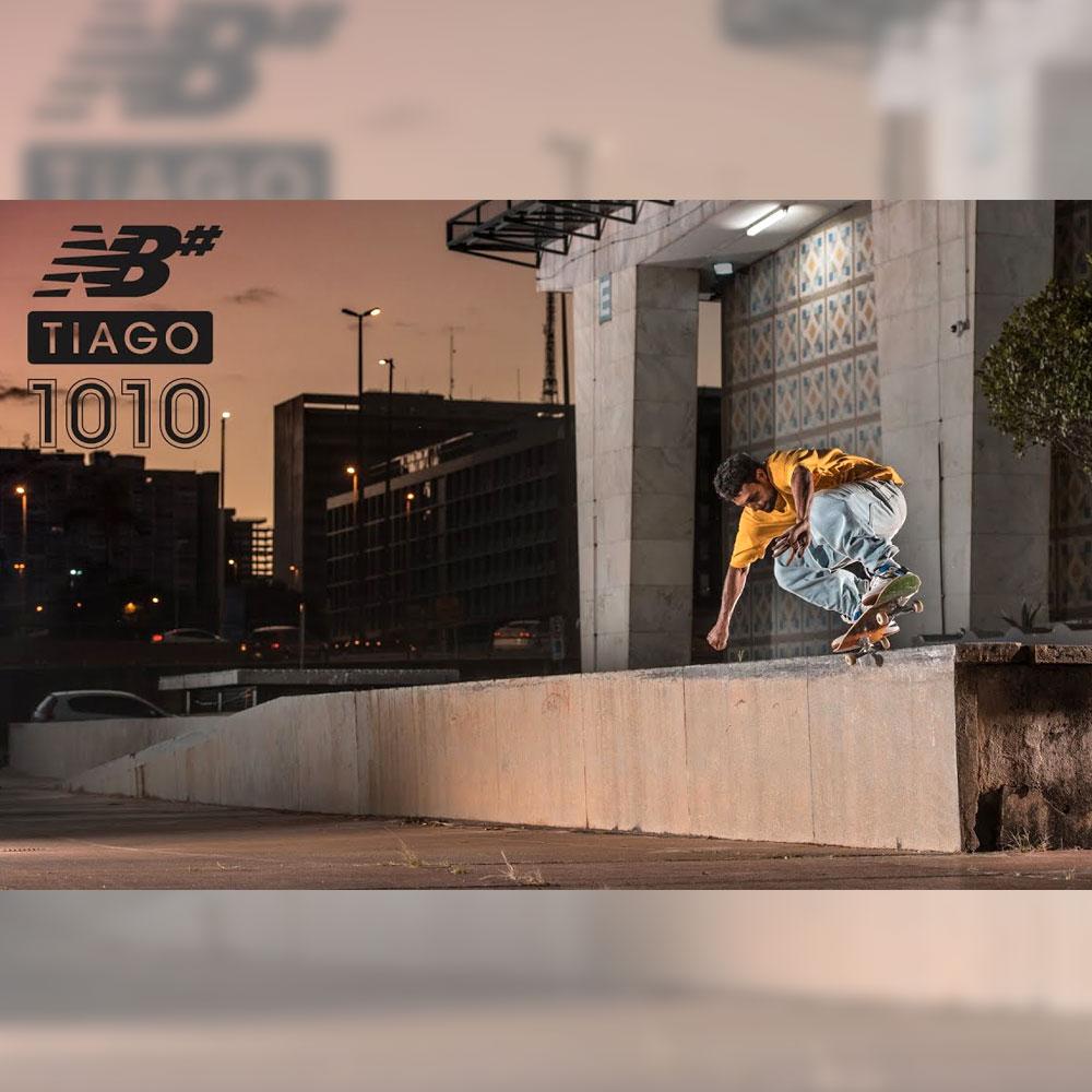 """NEW BALANCE NUMERIC から、TIAGO LEMOS のシグネチャーモデル """"NM 1010"""" を紹介するコマーシャル映像が公開"""