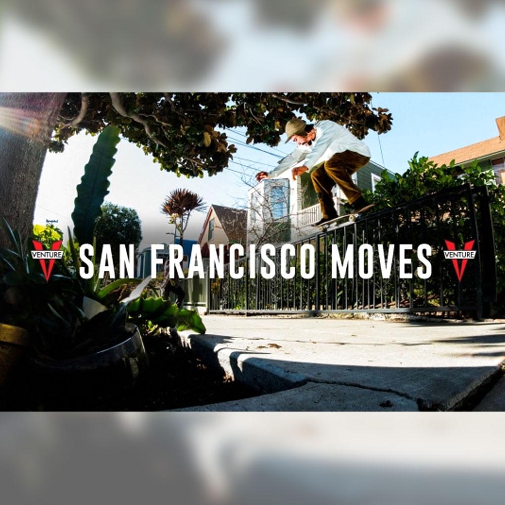 """VENTURE からサンフランシスコで収録された映像 """"SAN FRANCISCO MOVES"""" が公開"""