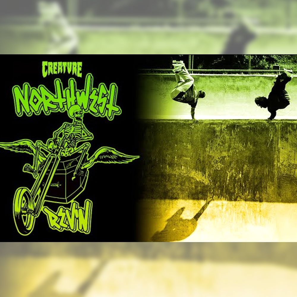 creature skateboards から、アメリカ西海岸の北部を巡るツアー映像 northwest rev'n with the friends が公開