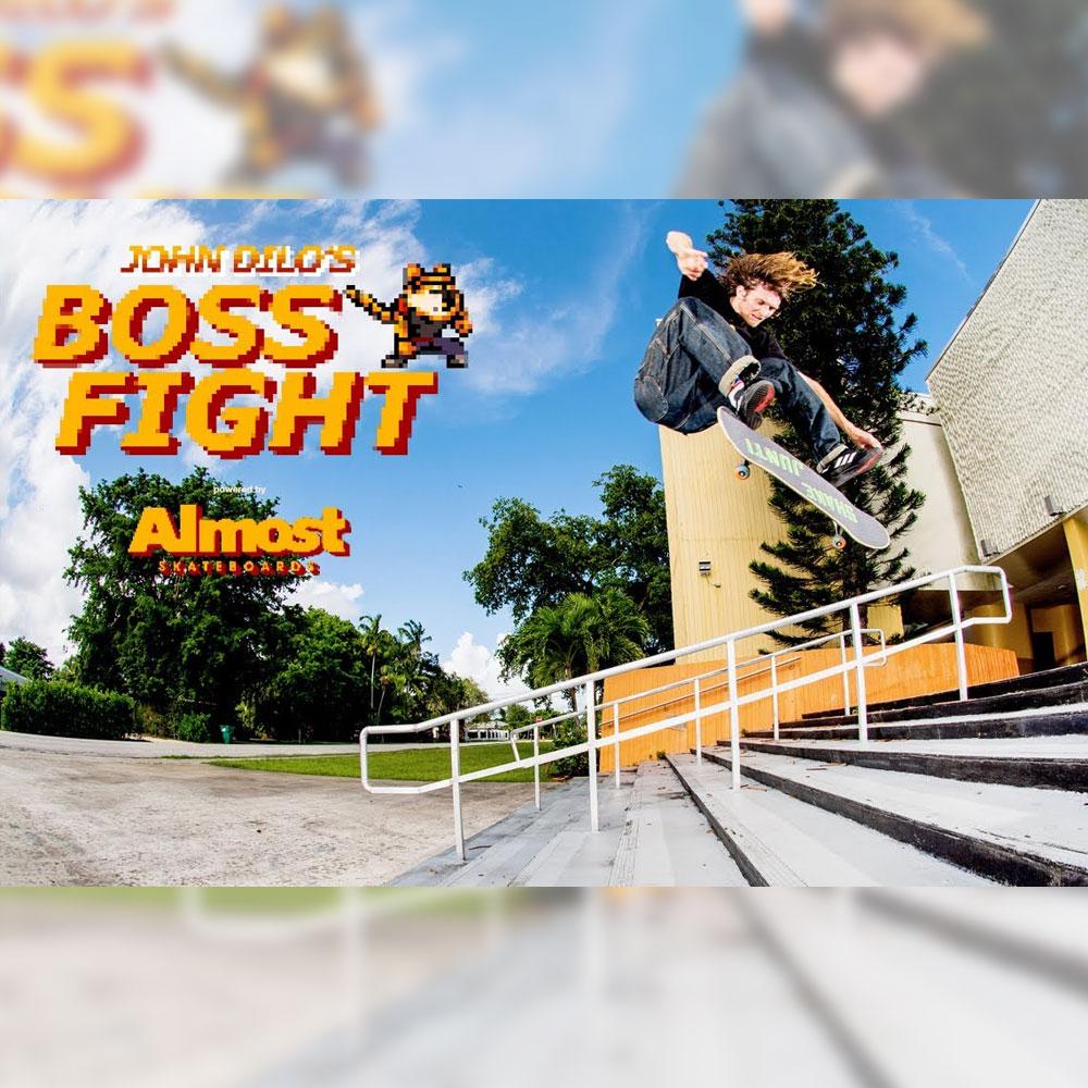 ALMOST (オールモスト) から、新しく加入した JOHN DILORENZO の初となるパート映像 BOSS FIGHT が公開