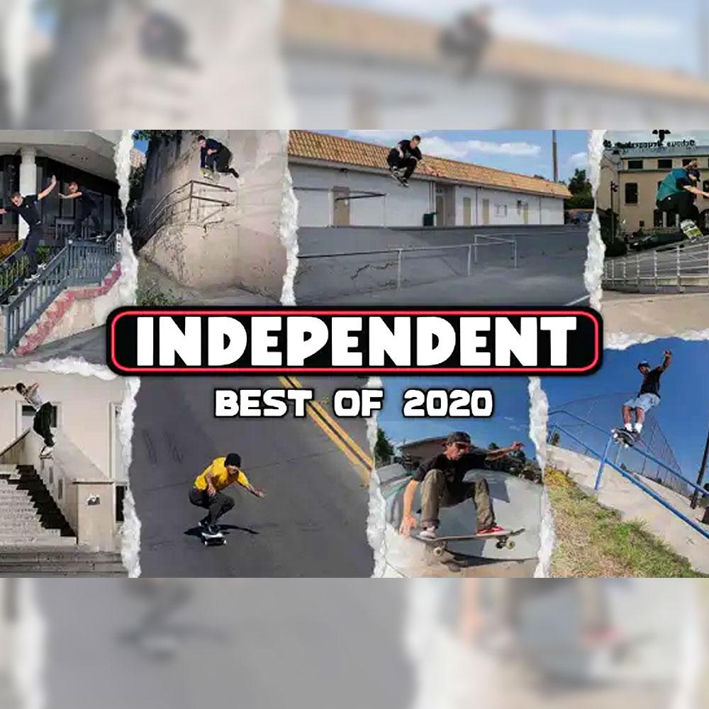 INDEPENDENT TRUCKS (インディペンデント トラック) から、2020年のベスト映像が公開