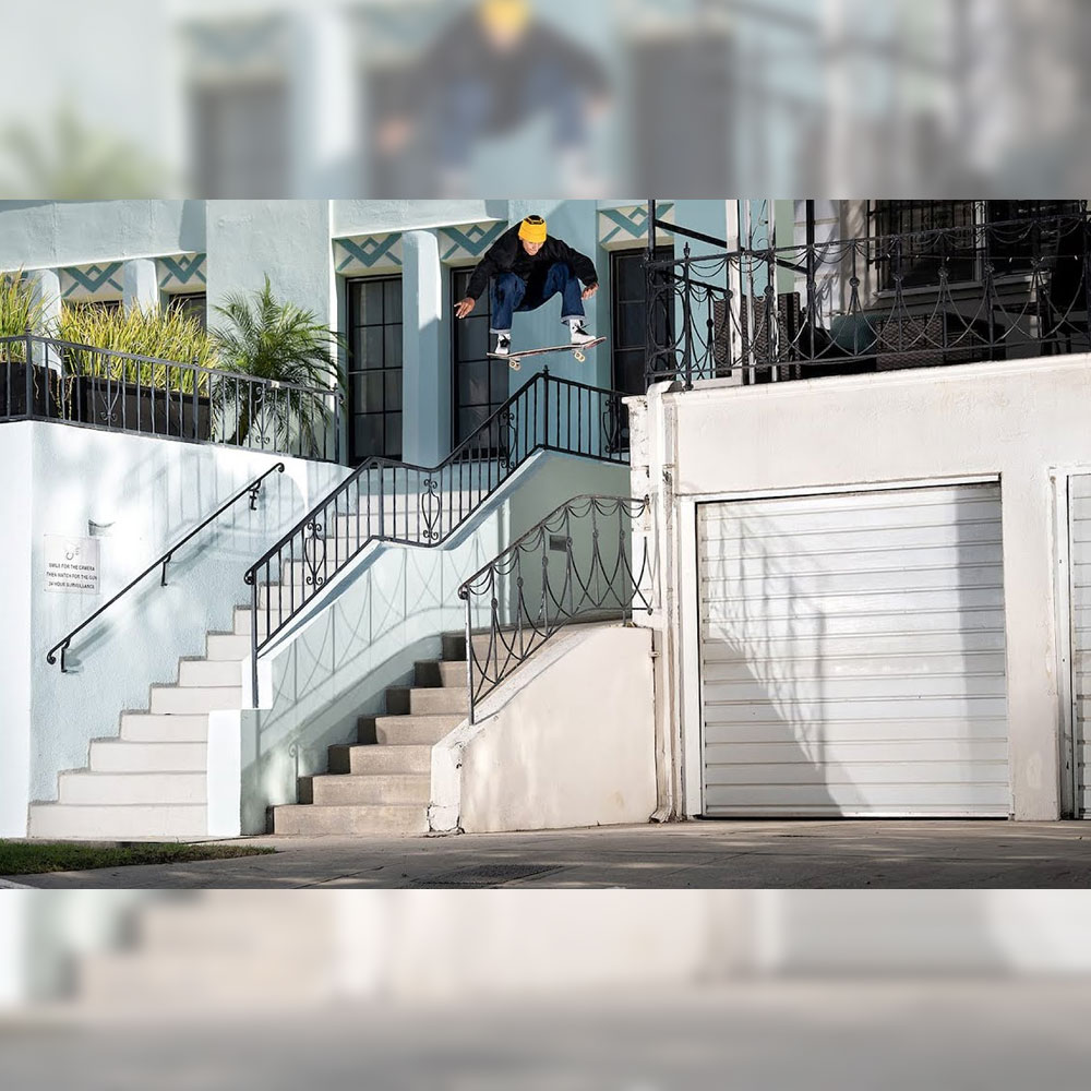 LOUIE LOPEZ (ルーイ・ロペス) の CONS / SEIZE THE SECONDS でのラフカット映像が公開