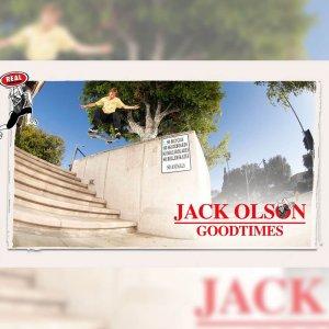THRASHER から JACK OLSON をフィーチャーした映像 GOOD TIMES が公開