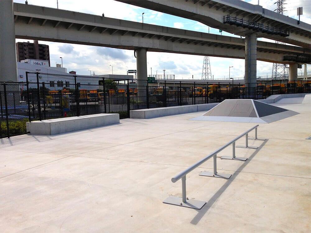 スケートパーク 大師河原公園スケートボードパーク