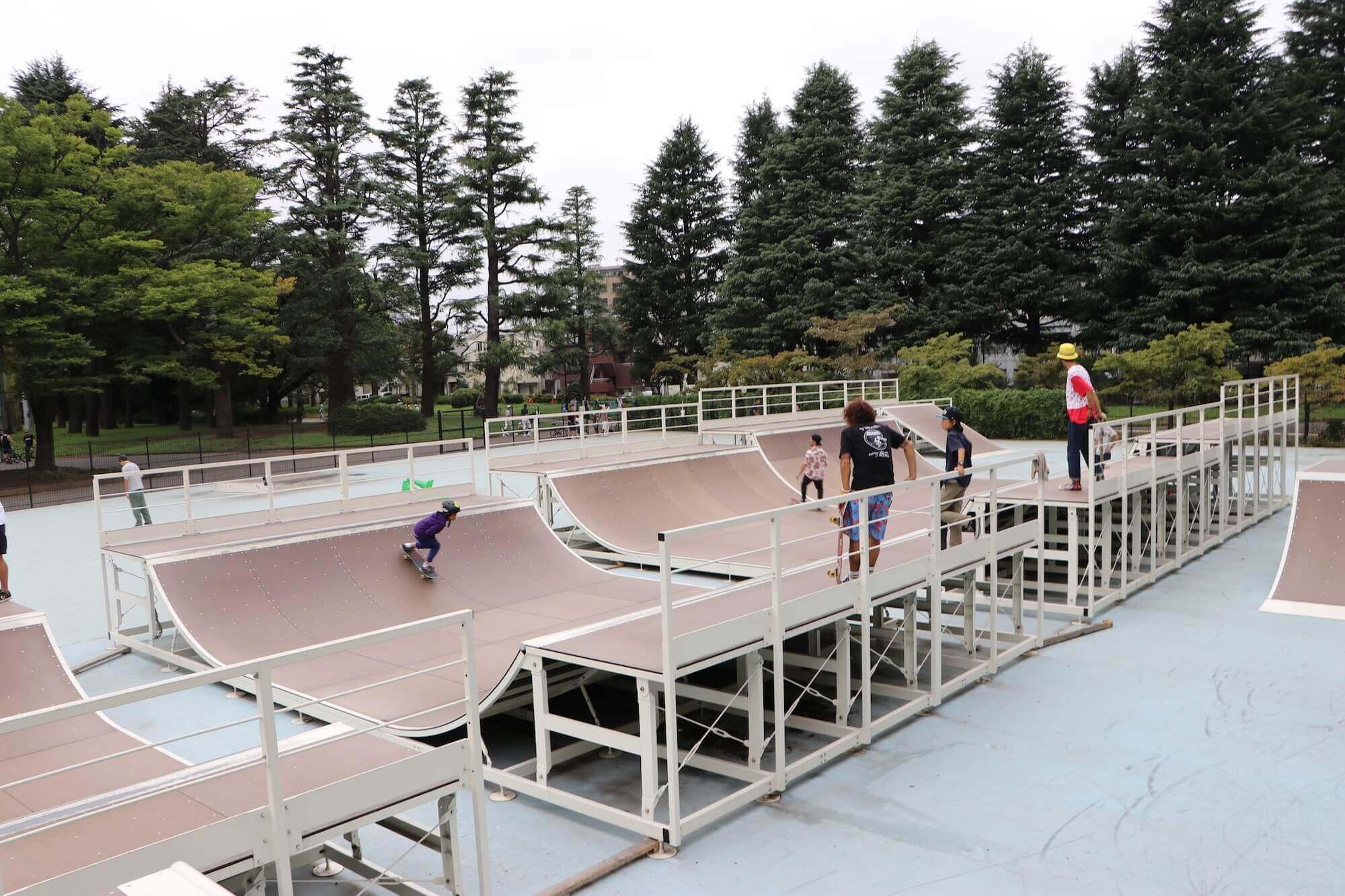 スケートパーク 駒沢公園