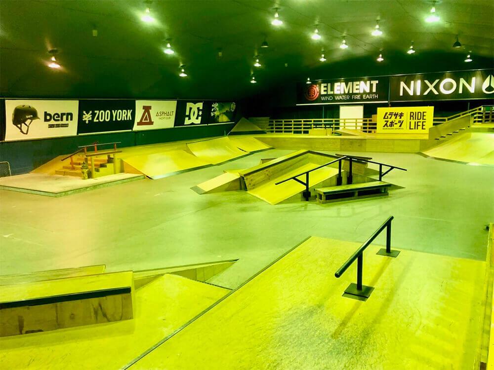 スケートパーク ムラサキパーク東京