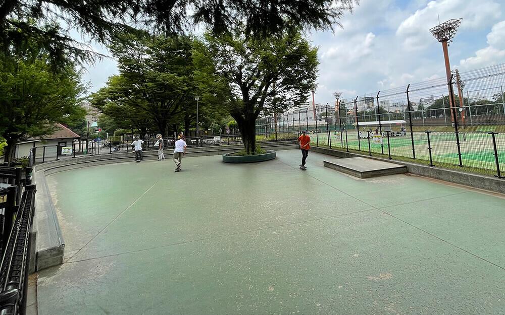 スケートパーク 世田谷公園