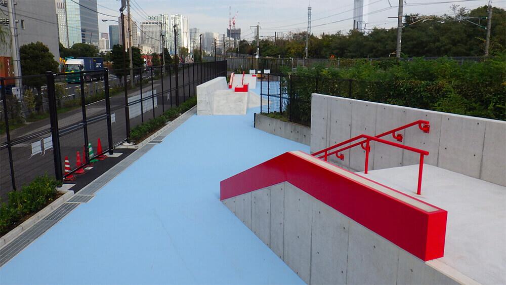 スケートパーク 八潮北公園スケートボード場