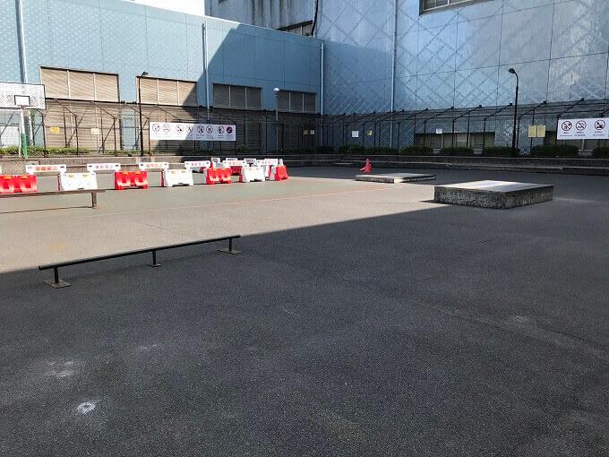 スケートパーク 夕凪橋遊び場