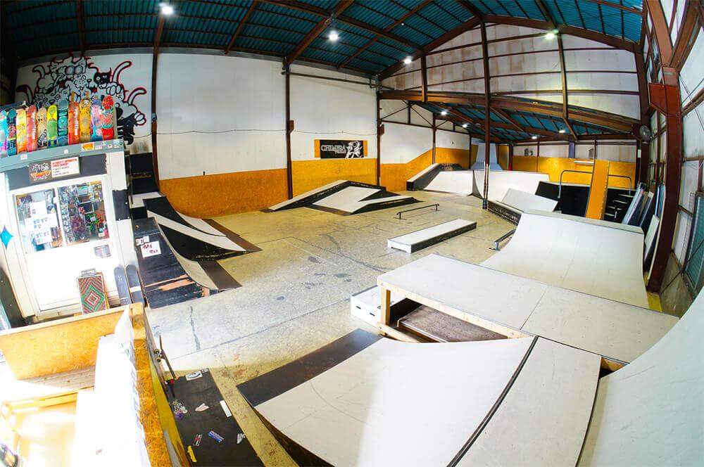 スケートパーク TRINITY B3 PARK & SHOP