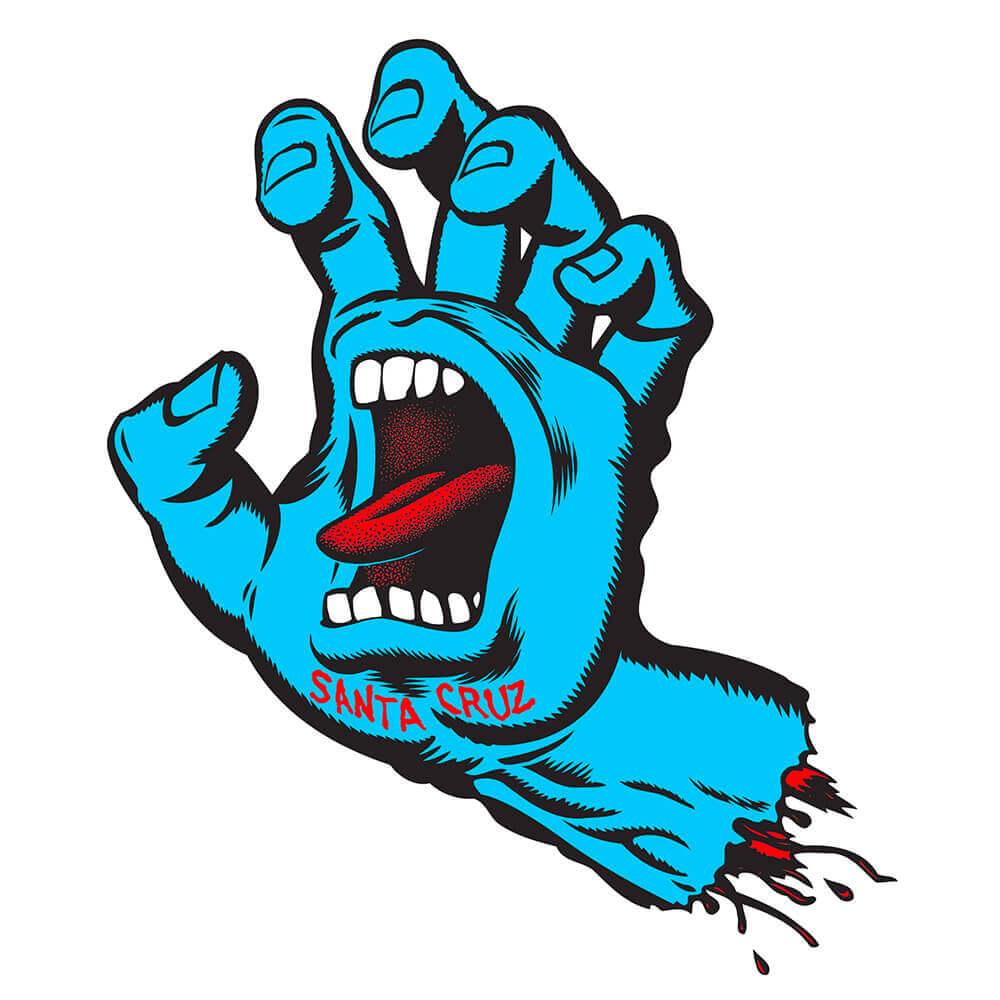 SANTA CRUZ(サンタクルーズ スケートボード)ブランド SCREAMING HAND